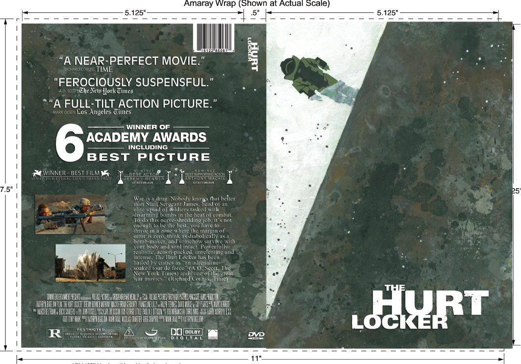 The Hurt Locker Dvd Cover